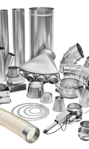 Metaliniai vamzdžiai ir jų komponentai