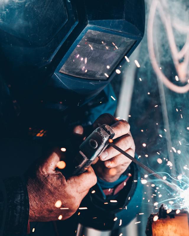 Filtrai metalo apdirbimui, suvirinimo procesams